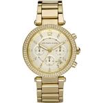นาฬิกาผู้หญิง Michael Kors รุ่น MK5354, Parker Glitz Chronograph Crystals Quartz Women's Watch