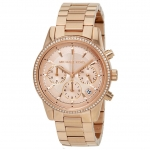 นาฬิกาผู้หญิง Michael Kors รุ่น MK6357, Ritz Chronograph Diamond Women's Watch