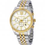 นาฬิกาผู้ชาย Michael Kors รุ่น MK8344, Lexington Chronograph Two Tone Men's Watch