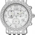 นาฬิกาข้อมือผู้หญิง Citizen Eco-Drive รุ่น FB1290-58A, TTG Swarovski Crystal Chronograph