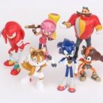 ฟิคเกอร์ Sonic Boom ชุด 6 ตัว ขนาด 2.75 นิ้ว (รุ่นใหม่)