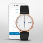 นาฬิกาผู้ชาย Skagen รุ่น SKT1112, Signatur Connected Hybrid Smartwatch Men's Watch