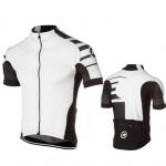 เสื้อจักรยาน แขนสั้น Pro team สีขาว