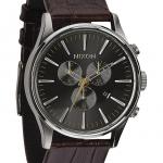 นาฬิกาผู้ชาย Nixon รุ่น A4051887, SENTRY CHRONO LEATHER