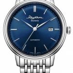 นาฬิกาผู้ชาย Rhythm รุ่น AD1602S02, Dynasty Bambino AD1602S 02, AD1602S-02