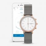 นาฬิกาผู้หญิง Skagen รุ่น SKT1406, Mini Hald Connected Hybrid Smartwatch Rose Gold Women's Watch