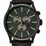 นาฬิกาผู้ชาย Nixon รุ่น A3861042, Sentry Chrono Men's Watch