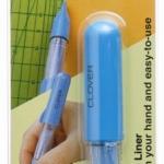 ชอล์กปากกาเขียนผ้าสีฟ้า
