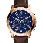 นาฬิกาผู้ชาย Fossil รุ่น FS5068, Grant Chronograph Rose Gold-Tone