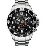 นาฬิกาผู้ชาย Nautica รุ่น NAI17509G, Chronograph Black Dial Date Display