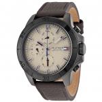 นาฬิกาผู้ชาย Tommy Hilfiger รุ่น 1791164, Jace Multi-Function Beige Dial Brown Leather