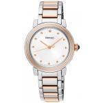 นาฬิกาผู้หญิง Seiko รุ่น SRZ480P1, Discover More Quartz Diamond Women's Watch