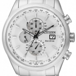 นาฬิกาข้อมือผู้ชาย Citizen Eco-Drive รุ่น AT8015-54A, Global Radio Controlled World Time Chronograph