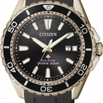 นาฬิกาข้อมือผู้ชาย Citizen Eco-Drive รุ่น BN0193-17E, Promaster Professional Diver's