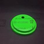 ฝาเรียบ BJM 16,22 ออนซ์ เจาะรู สีเขียว แพคละ 50 ใบ