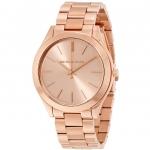 นาฬิกาผู้หญิง Michael Kors รุ่น MK3197, Runway Rose Gold Quartz Women's Watch