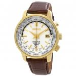 นาฬิกาผู้ชาย Seiko รุ่น SUN070P1, Kinetic World Time GMT