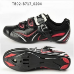 รองเท้าจักรยานเสือหมอบ TIEBAO รุ่น TB02-B717 สีดำ