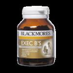 Blackmores Exec B 's บรรจุ 60 แคปซูล