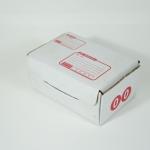 กล่องไปรษณีย์ขาวไดคัท เบอร์ 00 จำนวน 1 ใบ