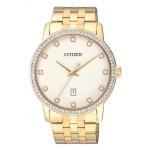 นาฬิกาผู้ชาย Citizen รุ่น BI5032-56A, Two Tone Swarovski Crystal Stainless Steel watch