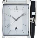 นาฬิกาข้อมือผู้ชาย Calvin Klein รุ่น K2M21120, Window Watch Analog Dress Quartz SWISS Watch