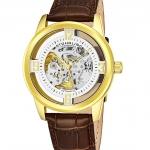 นาฬิกาผู้ชาย Stuhrling Original รุ่น 877.04, Winchester Automatic Skeleton Leather Strap Men's Watch
