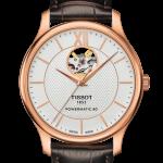 นาฬิกาผู้ชาย Tissot รุ่น T0954171703704, TRADITION POWERMATIC 80 OPEN HEART