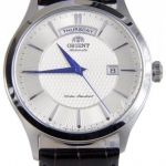 นาฬิกาผู้ชาย Orient รุ่น FEV0V004SH, Contemporary Mechanical Automatic Calendar