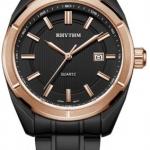นาฬิกาผู้ชาย Rhythm รุ่น G1305S05, General Collection Black IP G1305S-05, G1305S 05