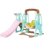 สไลเดอร์ 3 อิน 1 สำหรับเด็ก Mini Playground Set LNJS5002