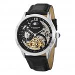 นาฬิกาผู้ชาย Stuhrling Original รุ่น 571.33151, Tempest II Automatic Skeleton Dual Time