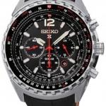 นาฬิกาผู้ชาย Seiko รุ่น SSC261P2, Prospex Sky Solar Chronograph Sapphire 100m Pilots Watch