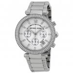 นาฬิกาผู้หญิง Michael Kors รุ่น MK5353, Parker Crystals Chronograph Quartz Women's Watch