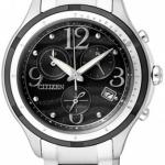 นาฬิกาข้อมือผู้หญิง Citizen Eco-Drive รุ่น FB1377-51E, Sapphire Japan Chronograph