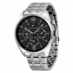 นาฬิกาผู้ชาย Tommy Hilfiger รุ่น 1791185, Corbin Multi-Function Grey Dial Stainless Steel