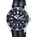 นาฬิกาผู้ชาย Seiko รุ่น SNZF17J1-NATO1, Seiko 5 Sports Automatic 23 Jewels NATO Strap