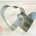 พิมพ์วงแหวน พิมพ์มูสเค้ก พิมพ์ชีสเค้ก รูปหัวใจ