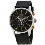 นาฬิกาผู้ชาย Nixon รุ่น A4052222, SENTRY CHRONO LEATHER