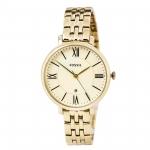นาฬิกาผู้หญิง Fossil รุ่น ES3434, Jacqueline Champagne Dial Gold-Tone