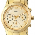 นาฬิกา Guess Model U13578L1, Guess Chronograph Gold Watch