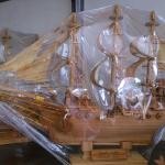 เรือสำเภาจีน ไม้เทพทาโร