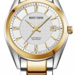 นาฬิกาผู้ชาย Rhythm รุ่น A1401S03, Automatic Sapphire A1401S-03, A1401S 03