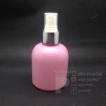 ขวด KI 150 ml สีชมพู+สเปรย์เงิน 10 ชิ้น