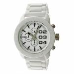 นาฬิกาผู้ชาย Diesel รุ่น DZ4220, Chronograph White Ceramic Men's Watch