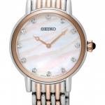 นาฬิกาผู้หญิง Seiko รุ่น SFQ806P1, Swarovski Quartz Women's Watch