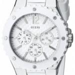 นาฬิกา Guess Model U10657L1, All White Multi-Dial Sports Watch