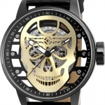 นาฬิกาผู้ชาย Invicta รุ่น INV20196, Invicta S1 Rally Mechanical Transparent Gold Skull