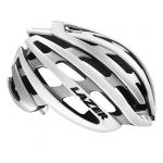 หมวกจักรยาน Z1 ‐ WHITE SILVER+LED