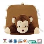 หมอนยางพาราสำหรับเด็ก การ์ตูนรูปลิง